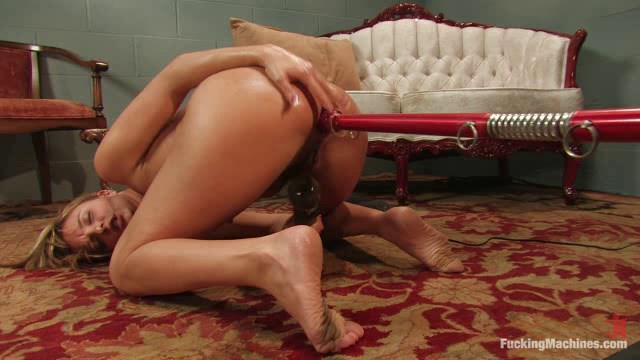 Lexi Love's amazing Ass Queen Horniness is back for more Machine Fucking.